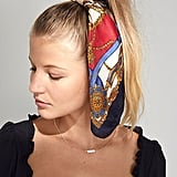 Lana Silk Scarf Ponytail Holder