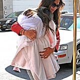 Katie Holmes in the Big Apple.