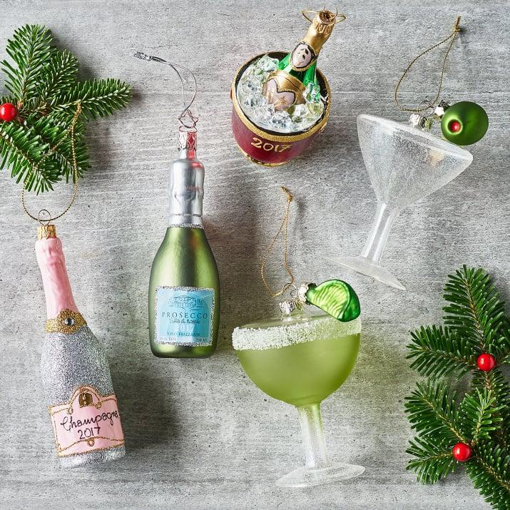 Sur La Table Margarita Glass Ornament