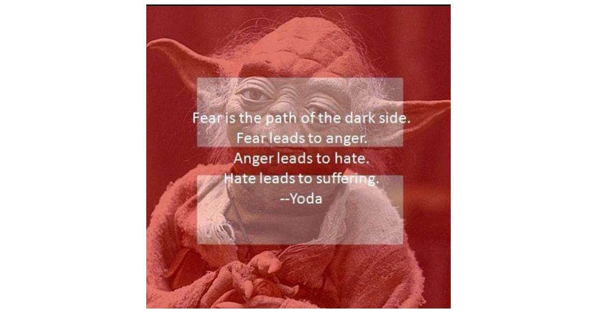 Yodas Quotes Can Apply To So Many Situations Red Equal Sign On