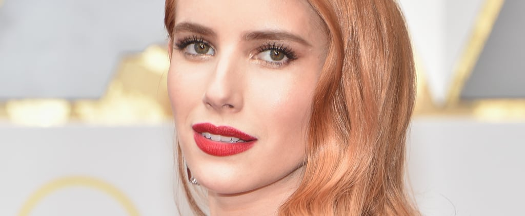 Have You Seen Emma Roberts' New Peachy Hue?