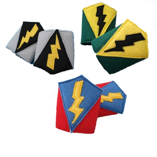 Her Flying Horses Superhero Cuffs ($8/pair)