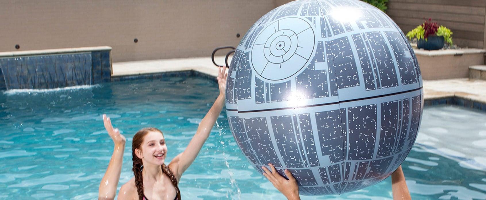 Star Wars Death Star Beach Ball