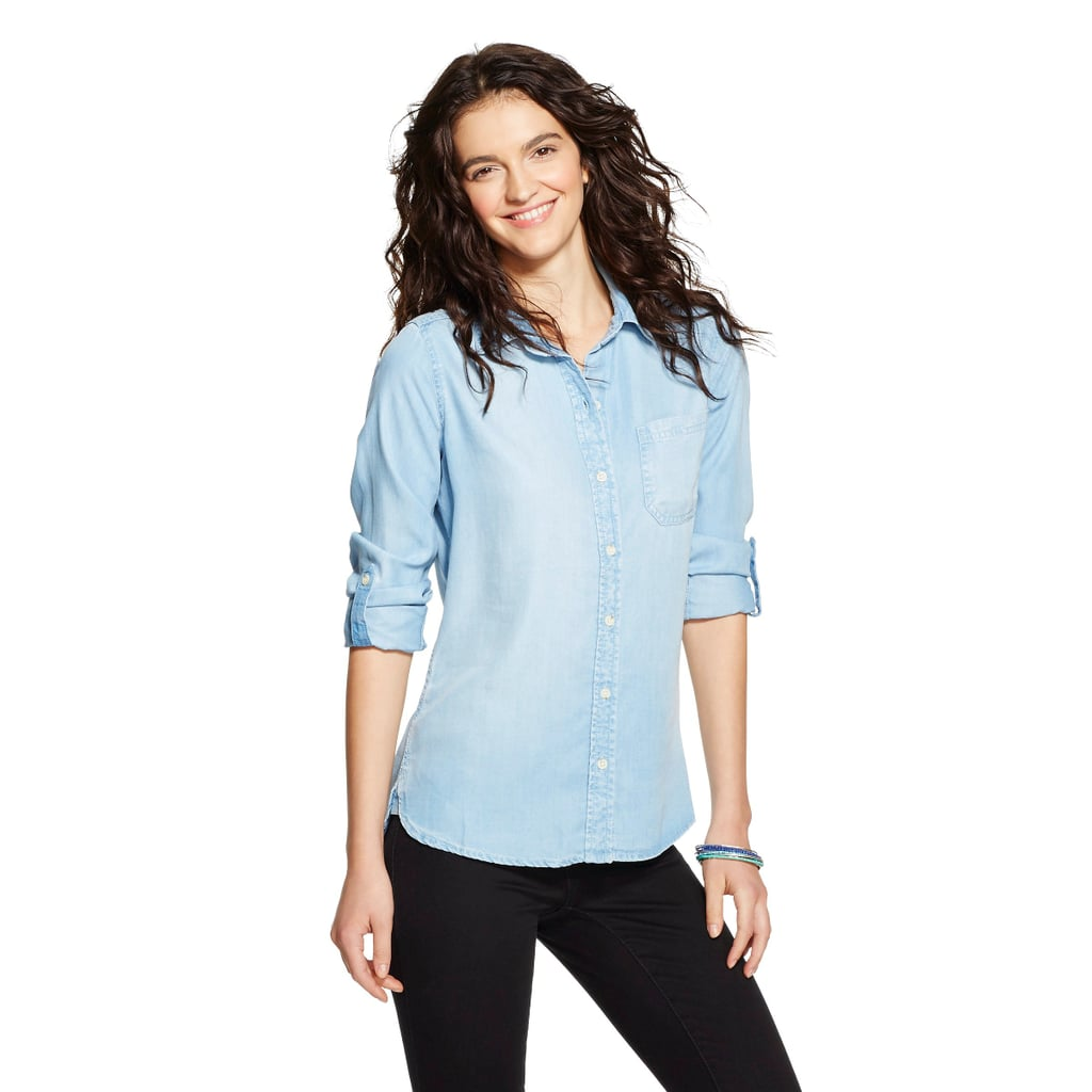 Mossimo Chambray Button-Down ($23)