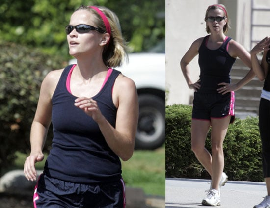 Photos of Reese Witherspoon Going for a Jog