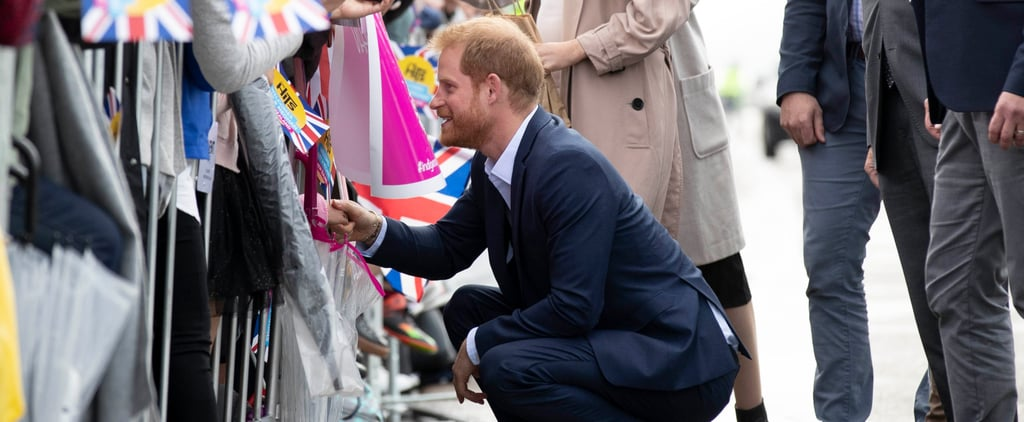 Prince Harry Comforts a Boy in New Zealand 2018