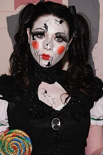 Celebrity Halloween Makeup Looks