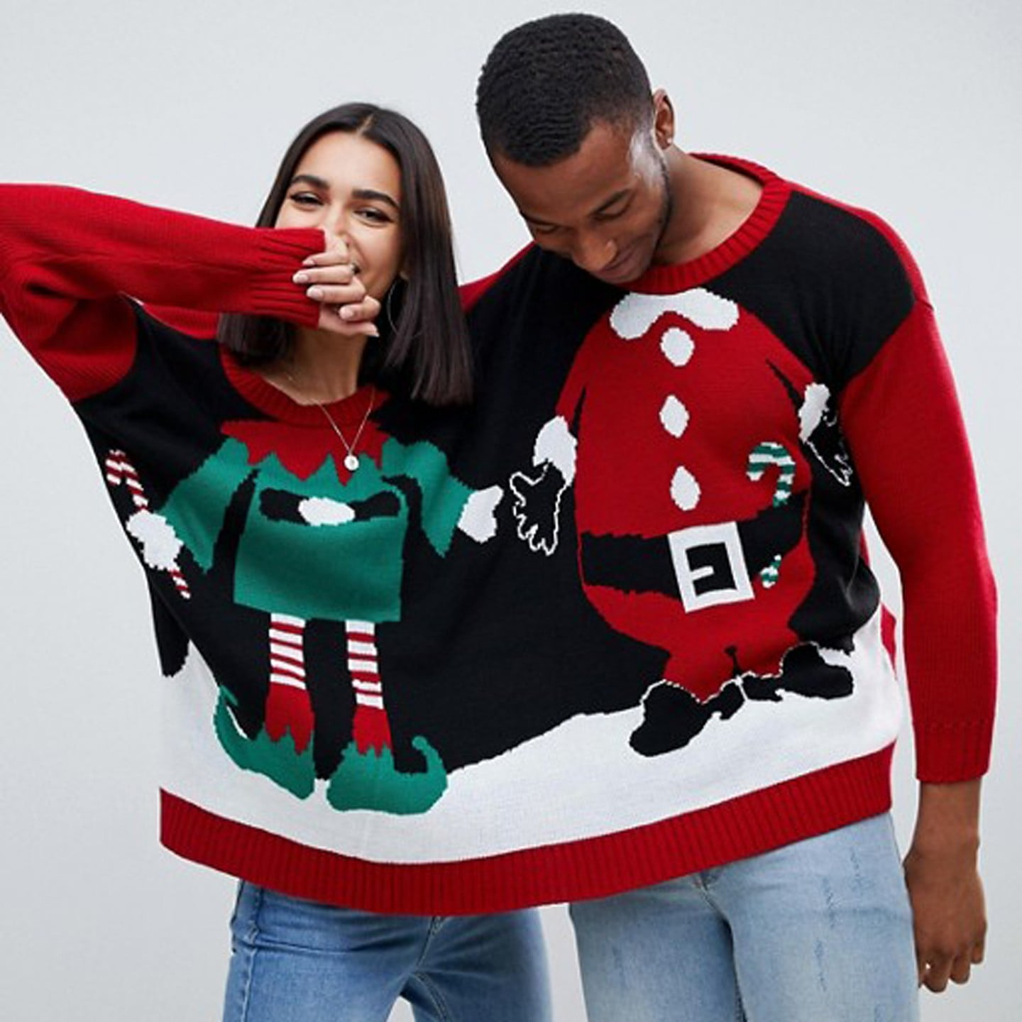 Superhero Ugly Christmas Sweaters.Ugly Christmas Sweater For Two Popsugar Love Sex