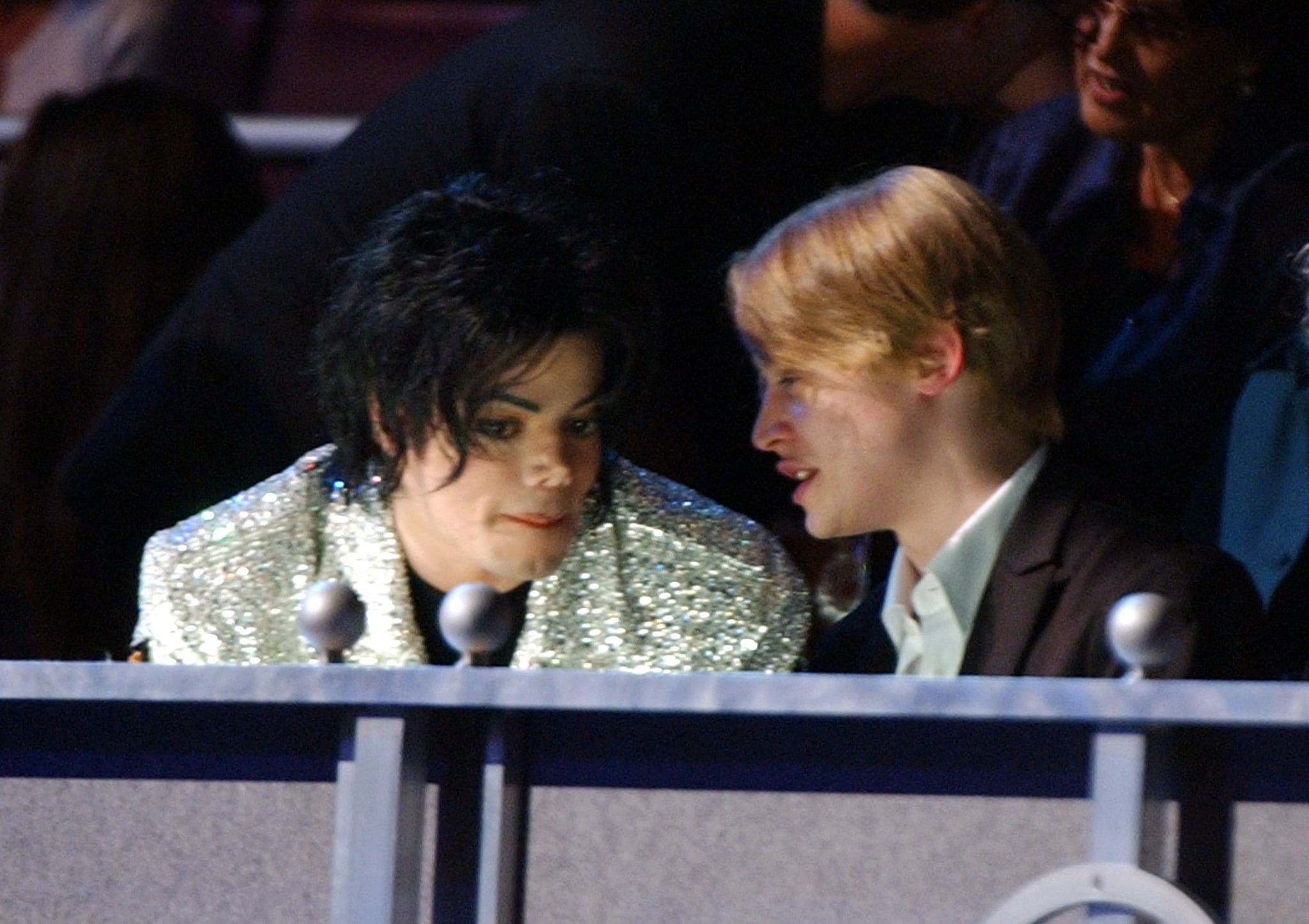 Michael Jackson and Macaulay Culkin (Photo by Kevin Kane/WireImage)