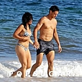 Gina Rodriguez and Joe LoCicero in Mexico Pictures July 2018