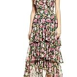 Wayf Chelsea Tiered Ruffle Maxi Dress