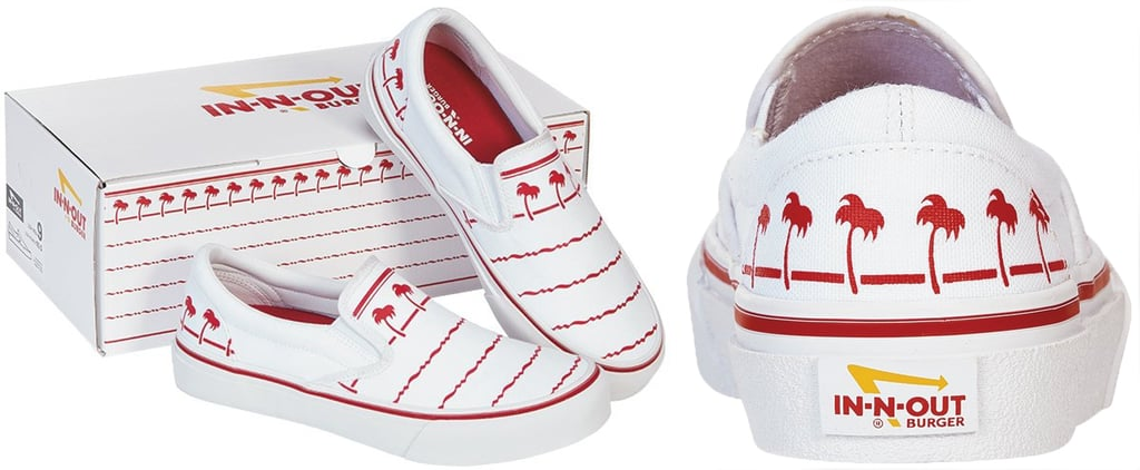 In-N-Out Is Selling Slip-on Sneakers Inspired By Its Cups
