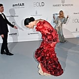 Katy Perry and Orlando Bloom at amfAR Gala Cannes 2016
