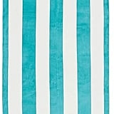 Pottery Barn Reversible Awning Stripe Beach Towel