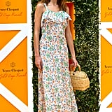 The It girl went all casual and flirty for the Veuve Clicquot polo final in July 2014.