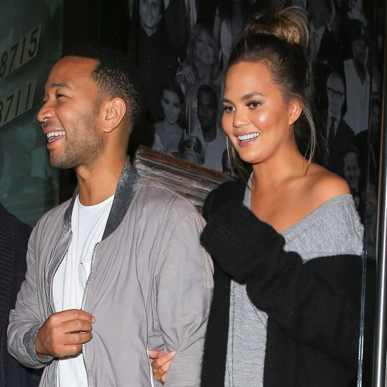 Chrissy Teigen and John Legend Date in LA October 2016
