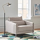 Rivet Berkshire Modern Living Room Accent Chair