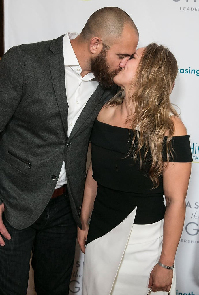 "Ronda Rousey may have a tough-girl persona, but it seems to melt away whenever she's around her husband, MMA fighter Travis Browne. The two athletes first began dating in 2015 and recently tied the knot in a romantic beach ceremony in Hawaii. While they initially tried keeping their romance under wraps, Travis eventually confirmed their relationship on The MMA Hour, saying, ""She's my woman and I am her man."" Travis also couldn't help gushing about Ronda, calling her a ""sweetheart"" and ""one of the hardest-working athletes that I've ever seen."" Celebrate their nuptials with a look at some of their sweetest moments.       Related:                                                                                                           16 Times Ronda Rousey's Sexy Snaps Had You Seeing Stars"