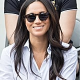 Meghan Markle's Windswept Waves at the Invictus Games 2017