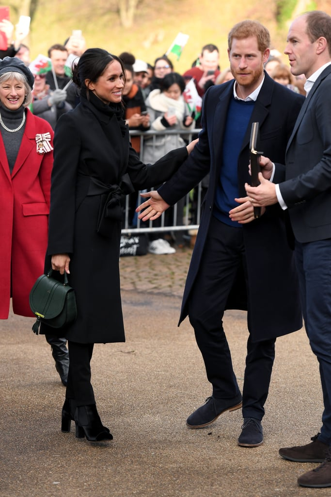 Better Late Than Never: Prince Harry and Meghan Markle Arrive in Cardiff After Train Delays