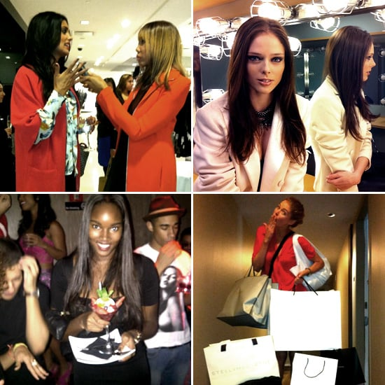 Pictures of Celebrities and Models on Twitter Oct 13, 2011
