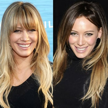 Hilary Duff Dyes Her Hair Dark