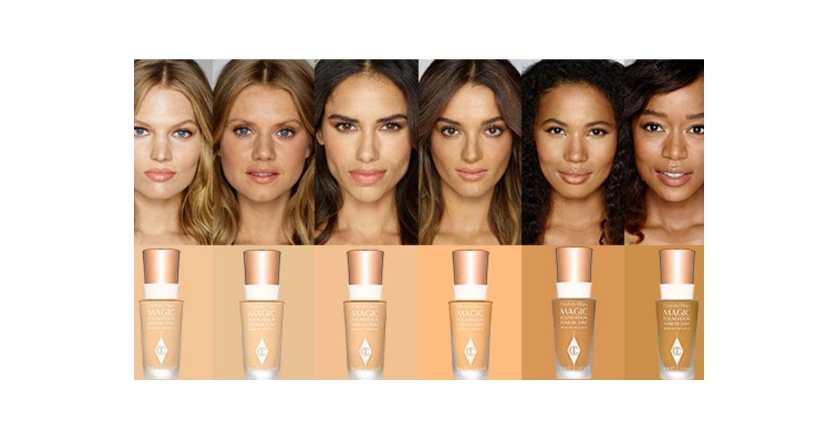 Charlotte Tilbury Magic Foundation Review Popsugar Beauty