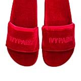 Ivy Park Velvet Sandal