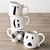 Figural Ghost Mug Set