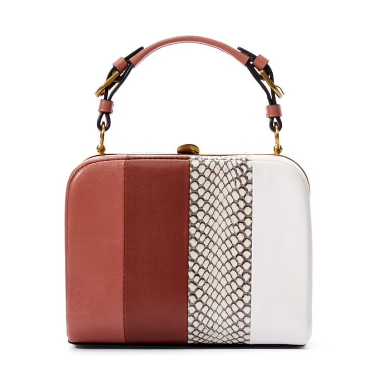 Tory Burch Stripe Mini Frame Clutch ($495)