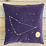 Capricorn Star Sign Pillow ($98)