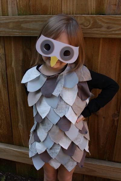 Upcycled Owl Dress