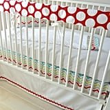 Merry Go Round Bumperless Crib Bedding Set