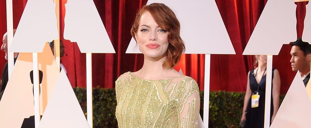 Reminder: This Isn't Emma Stone's First Shot at Oscar Gold