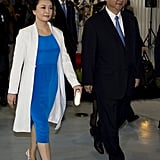 And Coordinates With Her Husband, President Xi Jinping, on the Regular