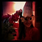 Camilla Belle got in the 2013 spirit.  Source: Instagram user camillabelle86