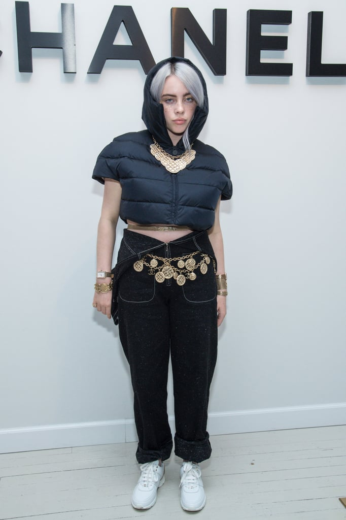 Billie Eilish's Cropped Puffer Coat