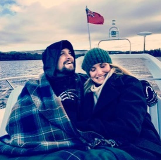 Benji Madden Birthday Message For Cameron Diaz 2017