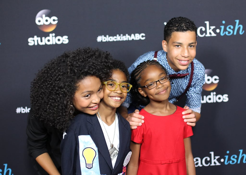 The Black-ish Kids Then and Now Pictures
