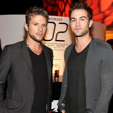 Pictures of Ryan Phillippe, Chace Crawford, and Minka Kelly at a Gatorade Event in LA