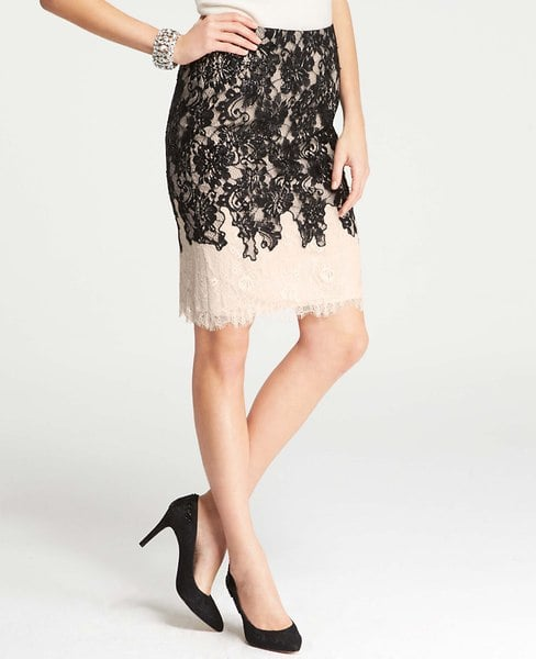 Ann Taylor Lace Skirt
