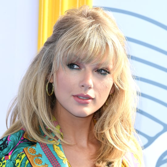 Taylor Swift Pink and Blue Hair Colour