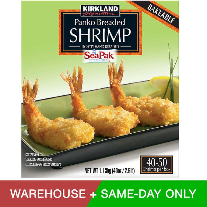 Kirkland Signature Panko Breaded Shrimp