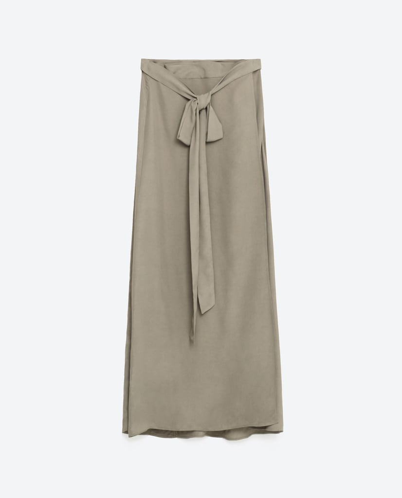 Zara Wrap Skirt ($40)
