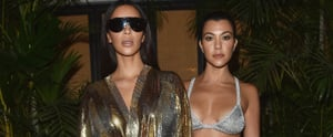 Kim and Kourtney Kardashian Played Dress-Up With the Entire Balmain Runway