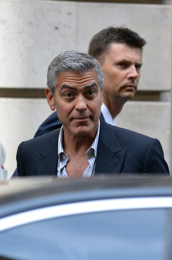 George Clooney Pops Up in Paris For His First Postsplit Appearance
