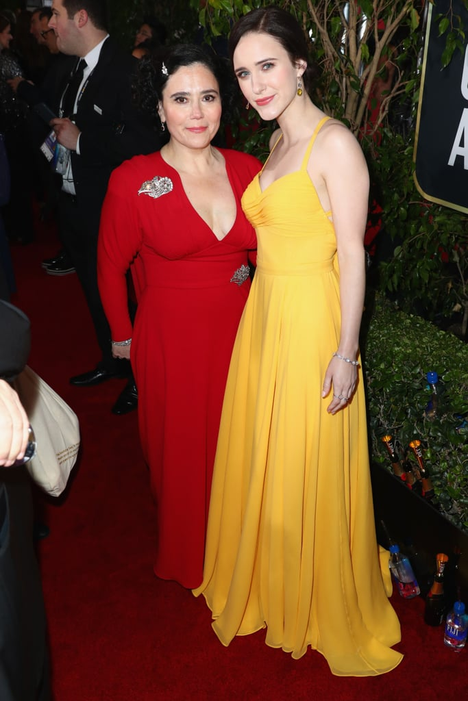 Pictured: Alex Borstein and Rachel Brosnahan