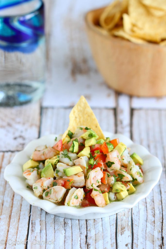 Tequila-Spiked Shrimp Ceviche