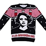 Flea-bahum-bag Holiday Sweater, Front