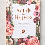 52 Lists for Happiness Journal